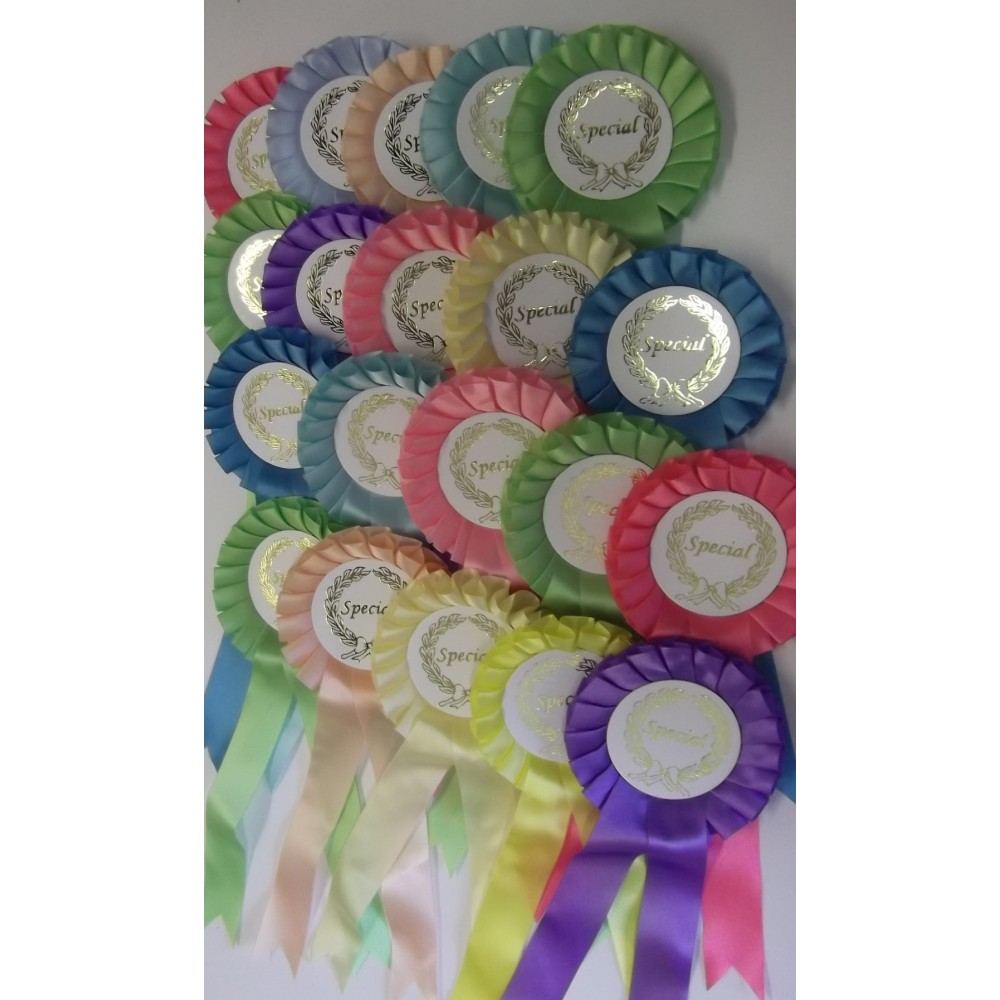 Special Rosettes - Pack of 100